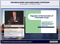 FDA Regulatory and Compliance Symposium